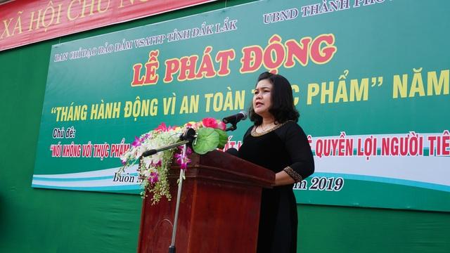 """Đắk Lắk:  Phát động """"Tháng hành động vì an toàn thực phẩm"""" năm 2019 - 1"""