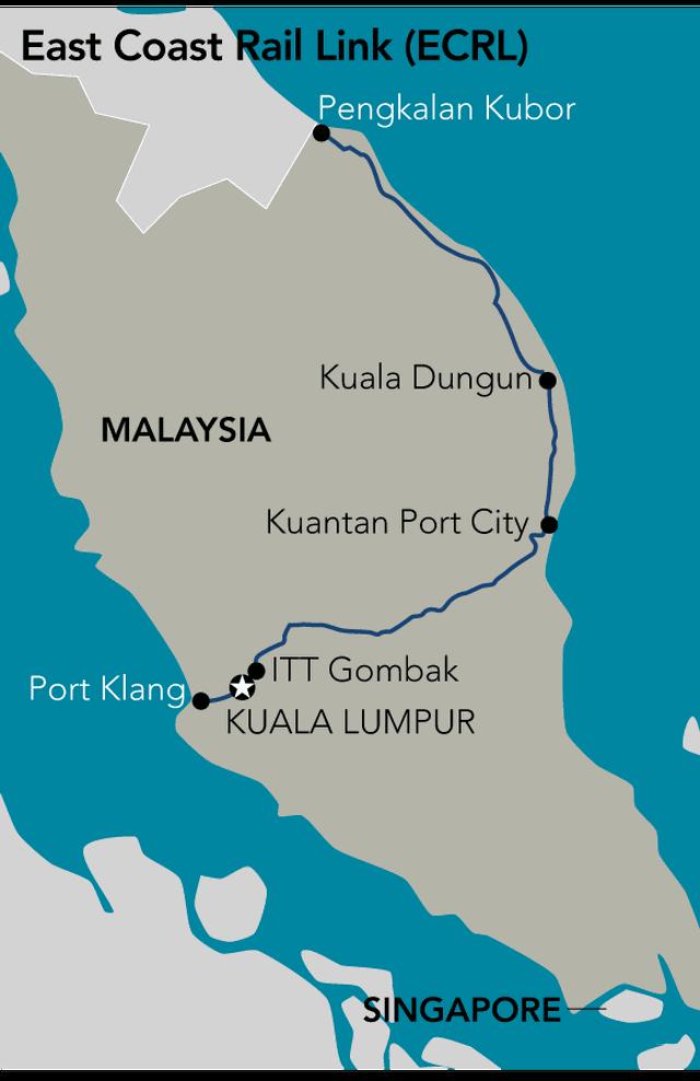 Malaysia nối lại dự án đường sắt với Trung Quốc, giảm 1/3 chi phí - 2