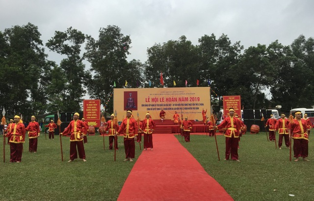 Đón bằng xếp hạng di tích quốc gia đặc biệt di tích kiến trúc nghệ thuật đền thờ Lê Hoàn - Ảnh minh hoạ 4