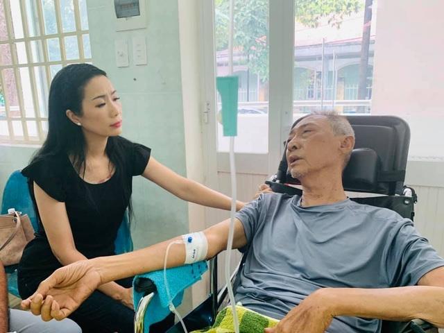 Nghệ sĩ Lê Bình bị hoại tử, sức khoẻ chuyển biến xấu