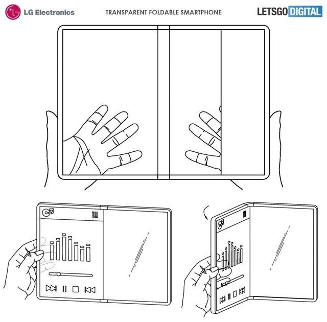 """LG """"chơi nổi"""", sẽ ra mắt smartphone cuộn tròn và màn hình trong suốt? - 3"""