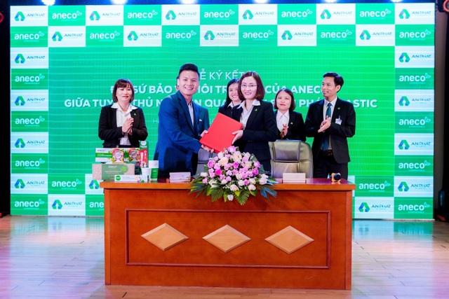 Tuyển thủ Quang Hải chính thức trở thành Đại sứ bảo vệ môi trường của AnEco - 3