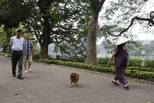 Hà Nội: Nhiều tuyến phố trung tâm vắng hoe, yên ả trong ngày đầu tiên nghỉ lễ - 8
