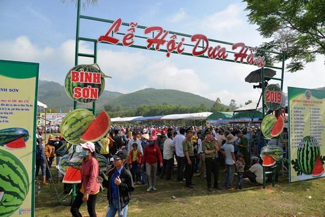 Quảng Ngãi:  Độc đáo lễ hội dưa hấu Bình Sơn - 1