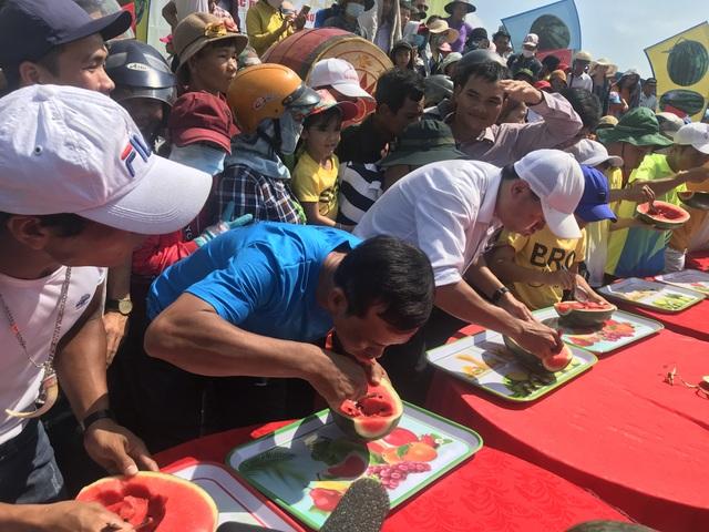 Quảng Ngãi:  Độc đáo lễ hội dưa hấu Bình Sơn - 3