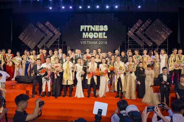 Xuân Đạt,Xuân Quỳnh đăng quang Quán quân Vietnam Fitness Model 2019 - 1