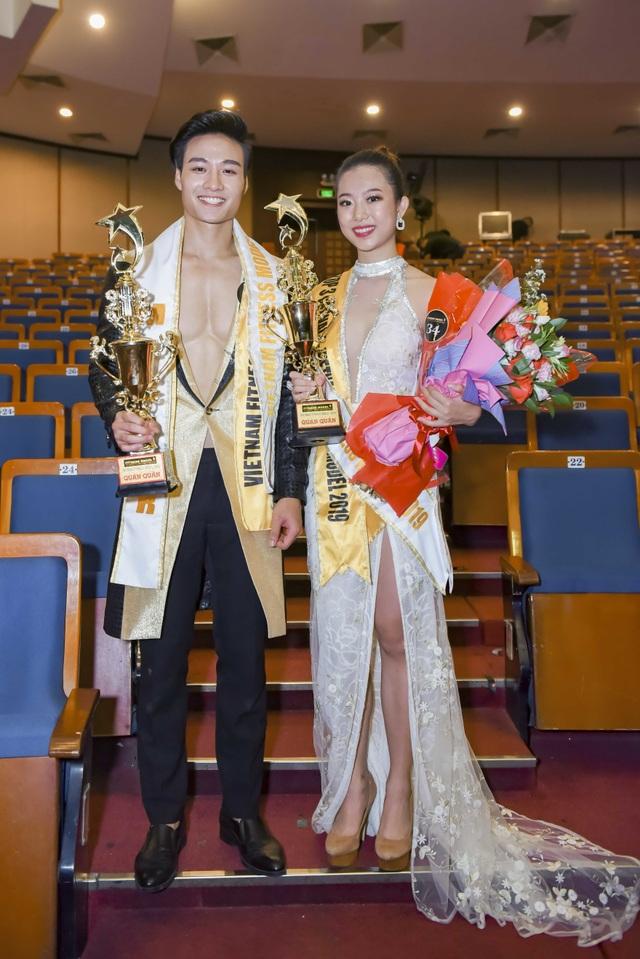 Xuân Đạt,Xuân Quỳnh đăng quang Quán quân Vietnam Fitness Model 2019 - 4