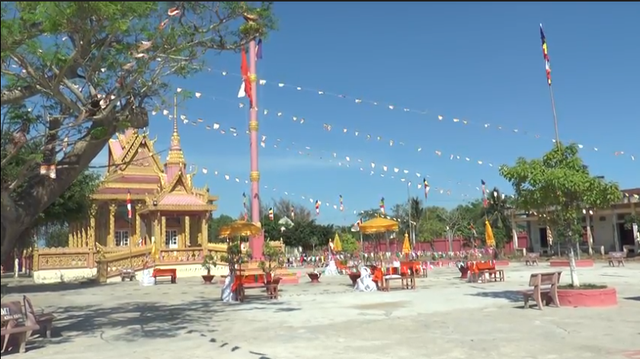 Đồng bào dân tộc Khmer đón Tết cổ truyền Chôl-Chnăm-Thmây - 3
