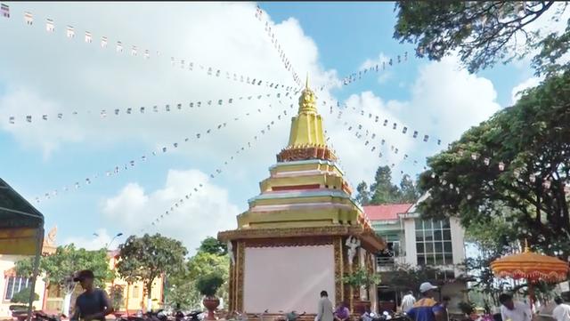 Đồng bào dân tộc Khmer đón Tết cổ truyền Chôl-Chnăm-Thmây - 4