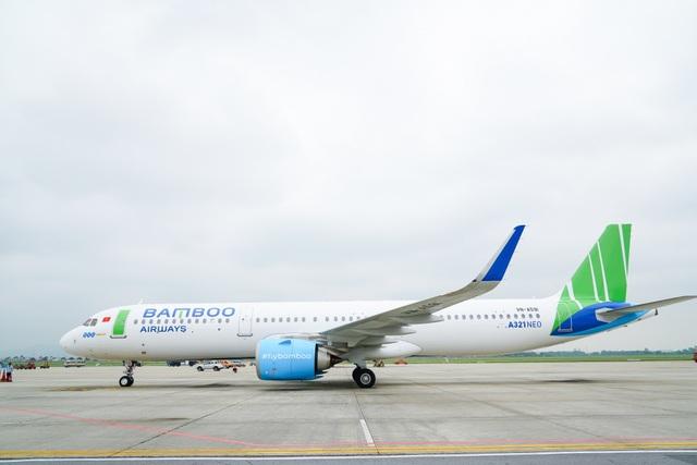 """Bamboo Airways đón thêm máy bay Airbus A321NEO - """"át chủ bài"""" cho đường bay châu Á sắp tới - 1"""