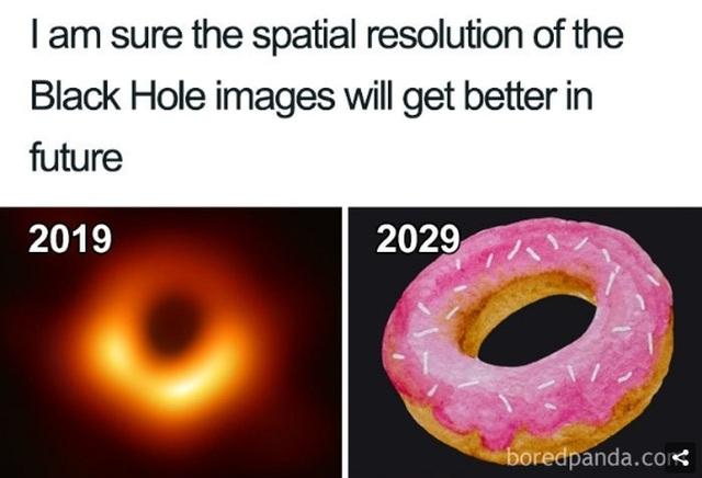 Chết cười với phản ứng của cộng đồng mạng khi lần đầu nhìn thấy Hố đen! - 12