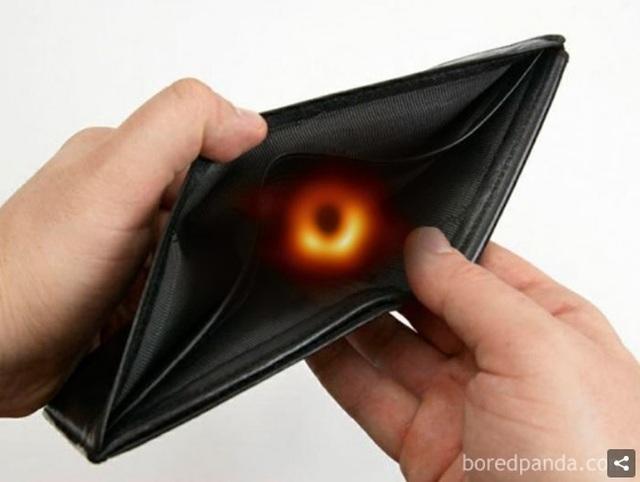 Chết cười với phản ứng của cộng đồng mạng khi lần đầu nhìn thấy Hố đen! - 9