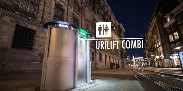 """Nhà vệ sinh đặc biệt có thể """"chui lên"""" từ lòng đất - 1"""
