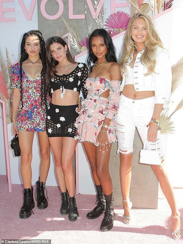 Dàn chân dài Victorias Secret khoe dáng nuột nà - 9
