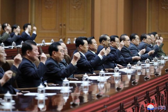 Hàng nghìn người Triều Tiên tuần hành chúc mừng Chủ tịch Kim Jong-un - 7