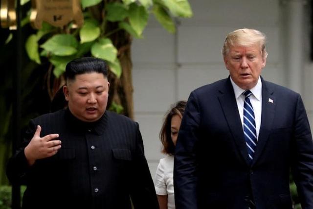 Phản ứng của ông Trump sau khi ông Kim nêu điều kiện gặp thượng đỉnh lần 3 - 1