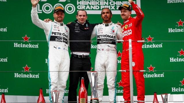 Hamilton thắng thuyết phục tại chặng đua F1 thứ 1000 - 10
