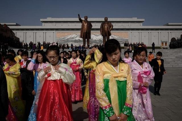 Hàng chục nghìn người Triều Tiên nô nức chào mừng Ngày Ánh Dương - 6