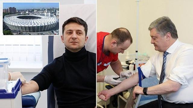 2 lần ông Poroshenko lẻ loi tranh luận vì ông Zelenskiy làm lơ - 1