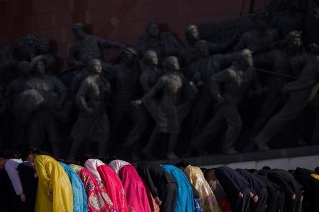 Hàng chục nghìn người Triều Tiên nô nức chào mừng Ngày Ánh Dương - 5