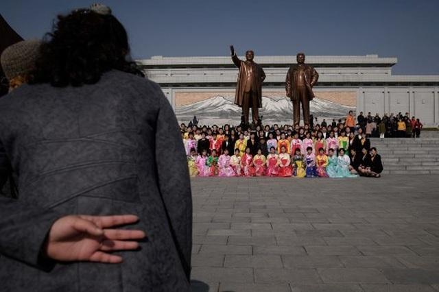 Hàng chục nghìn người Triều Tiên nô nức chào mừng Ngày Ánh Dương - 7