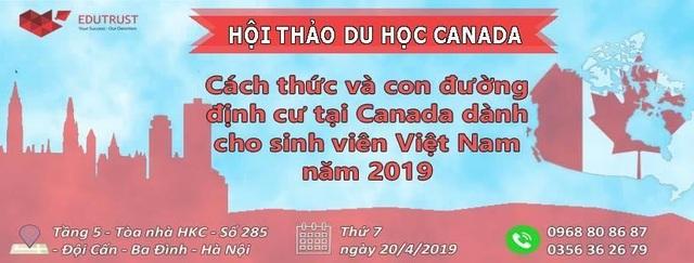 Cách thức và con đường định cư tại Canada dành cho sinh viên Việt Nam năm 2019 - 1