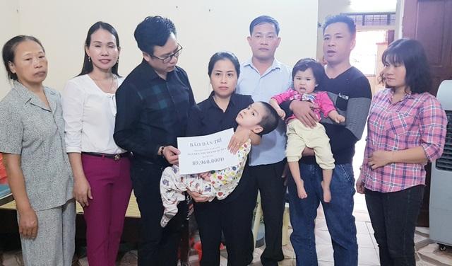 Bạn đọc giúp đỡ 2 hoàn cảnh nhân ái ở xứ Nghệ hơn 240 triệu đồng  - 5
