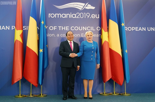 Thủ tướng Việt Nam, Romania hội đàm - 2