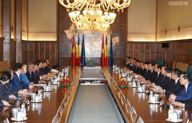 Thủ tướng Việt Nam, Romania hội đàm - 3
