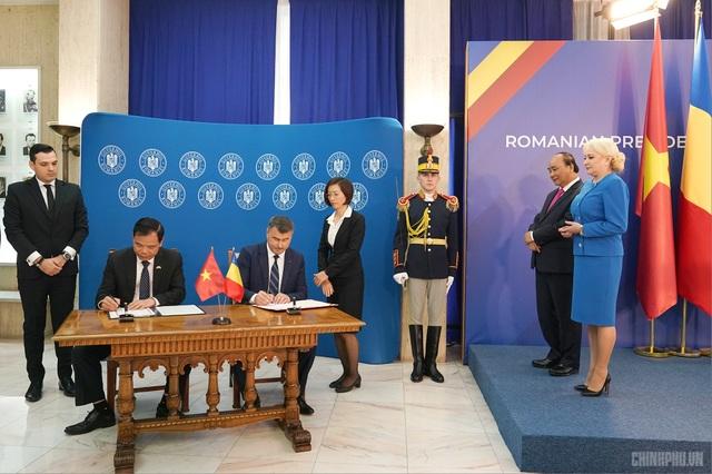 Thủ tướng Việt Nam, Romania hội đàm - 5