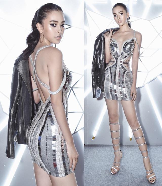 Tiểu Vy diện trang phục hở bạo, Á hậu Thuỳ Dung khoe ảnh bikini - 1