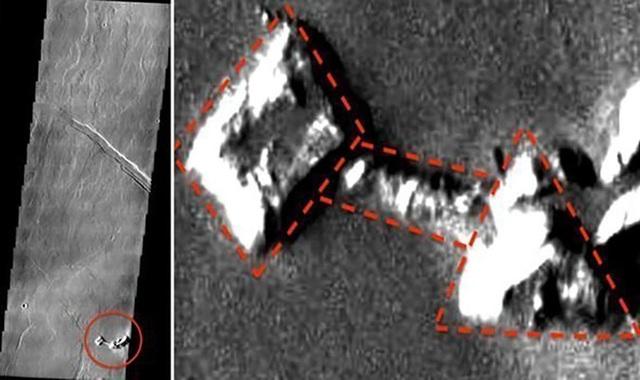 Phát hiện hình ảnh được cho là bằng chứng sự sống trên sao Hỏa - 1