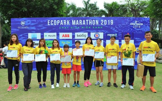 Amix Team Việt Nam tỏa sáng ở giải Ecopark Marathon 2019 - 8