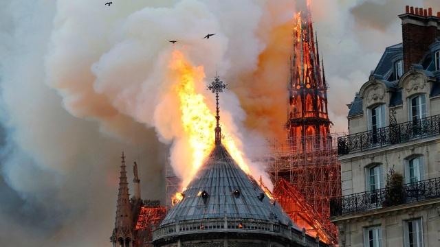 Người nổi tiếng đau buồn khi nghe tin nhà thờ Đức Bà bị cháy - 1