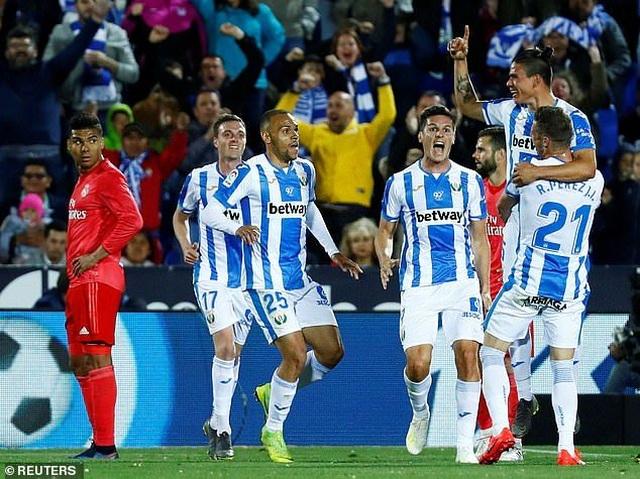 Hòa thất vọng Leganes, Real Madrid xa dần giấc mơ vô địch La Liga - 2