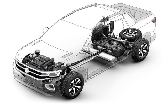 Volkswagen Tarok - Phép thử ở phân khúc bán tải cỡ nhỏ - 9