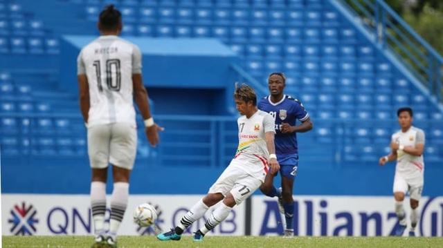 B.Bình Dương thắng đội bóng Myanmar với tỷ số tennis tại AFC Cup - 2