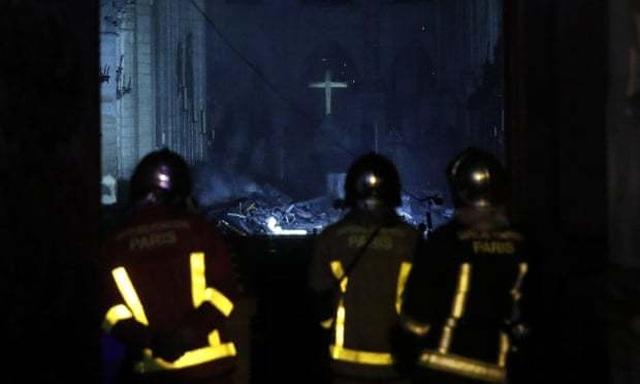 Những hình ảnh đầu tiên bên trong Nhà thờ Đức Bà Paris sau hỏa hoạn dữ dội - 5
