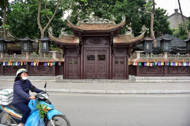 Tượng Phật từ đá quý nguyên khối trong ngôi chùa nghìn năm tuổi ở Hà Nội ảnh 10
