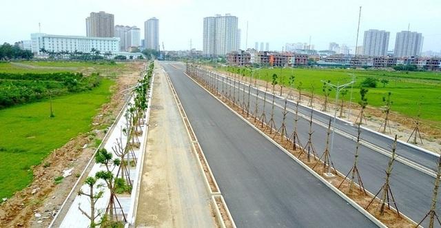 Toàn cảnh tuyến đường Xa La - Nguyễn Xiển đến cao tốc Pháp Vân - Cầu Giẽ qua Khu đô thị Mường Thanh Thanh Hà - 2