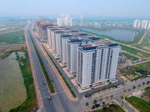Toàn cảnh tuyến đường Xa La - Nguyễn Xiển đến cao tốc Pháp Vân - Cầu Giẽ qua Khu đô thị Mường Thanh Thanh Hà - 3