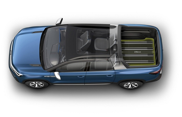 Volkswagen Tarok - Phép thử ở phân khúc bán tải cỡ nhỏ - 4