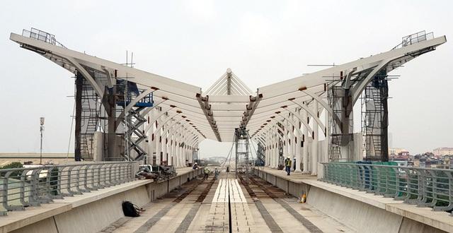 Hình ảnh tuyến đường sắt mỗi năm làm được 1 kilomet Nhổn - Ga Hà Nội - 1