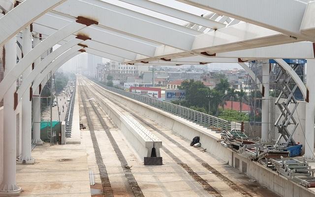 Hình ảnh tuyến đường sắt mỗi năm làm được 1 kilomet Nhổn - Ga Hà Nội - 2