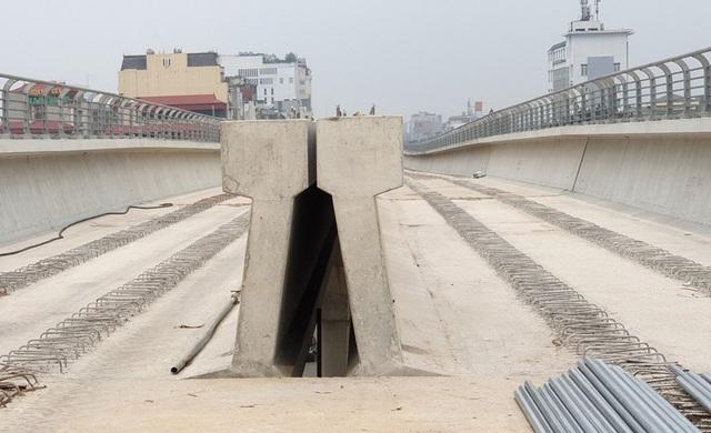 Hình ảnh tuyến đường sắt mỗi năm làm được 1 kilomet Nhổn - Ga Hà Nội - 3