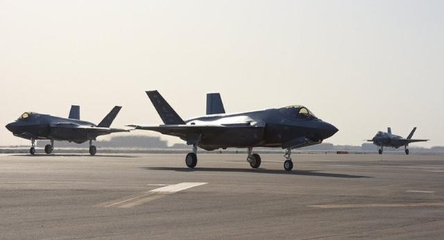 """Mỹ lần đầu đưa """"Tia chớp"""" F-35A tới chảo lửa Trung Đông - 1"""