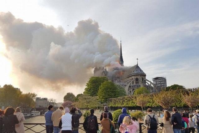 Nghệ sĩ Việt thảng thốt khi hay tin Nhà thờ Đức Bà Paris bốc cháy - 2