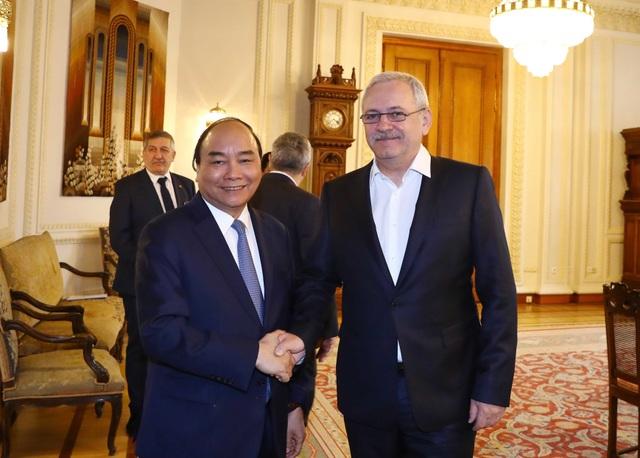 Thủ tướng Nguyễn Xuân Phúc hội kiến Chủ tịch Hạ viện Romania - 1