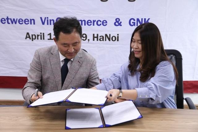 VinCommerce bắt tay với GNK Hàn Quốc, mở mục tiêu mới cho thị trường bán lẻ - 2