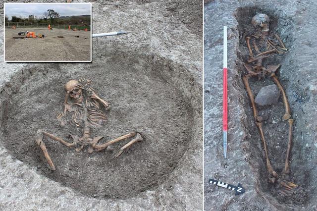 Phát hiện hàng loạt hài cốt cổ đại 3.000 năm bí ẩn tại Anh - 1